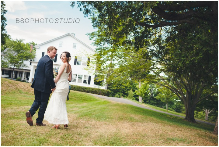 Creative vintage Connecticut farm wedding photography