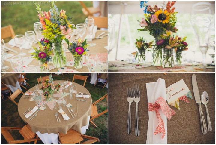 handmade wedding decorations NY CT photography