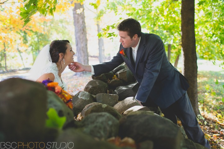 Romantic documentary wedding photography at The Hillstead Museum in Farmington, CT