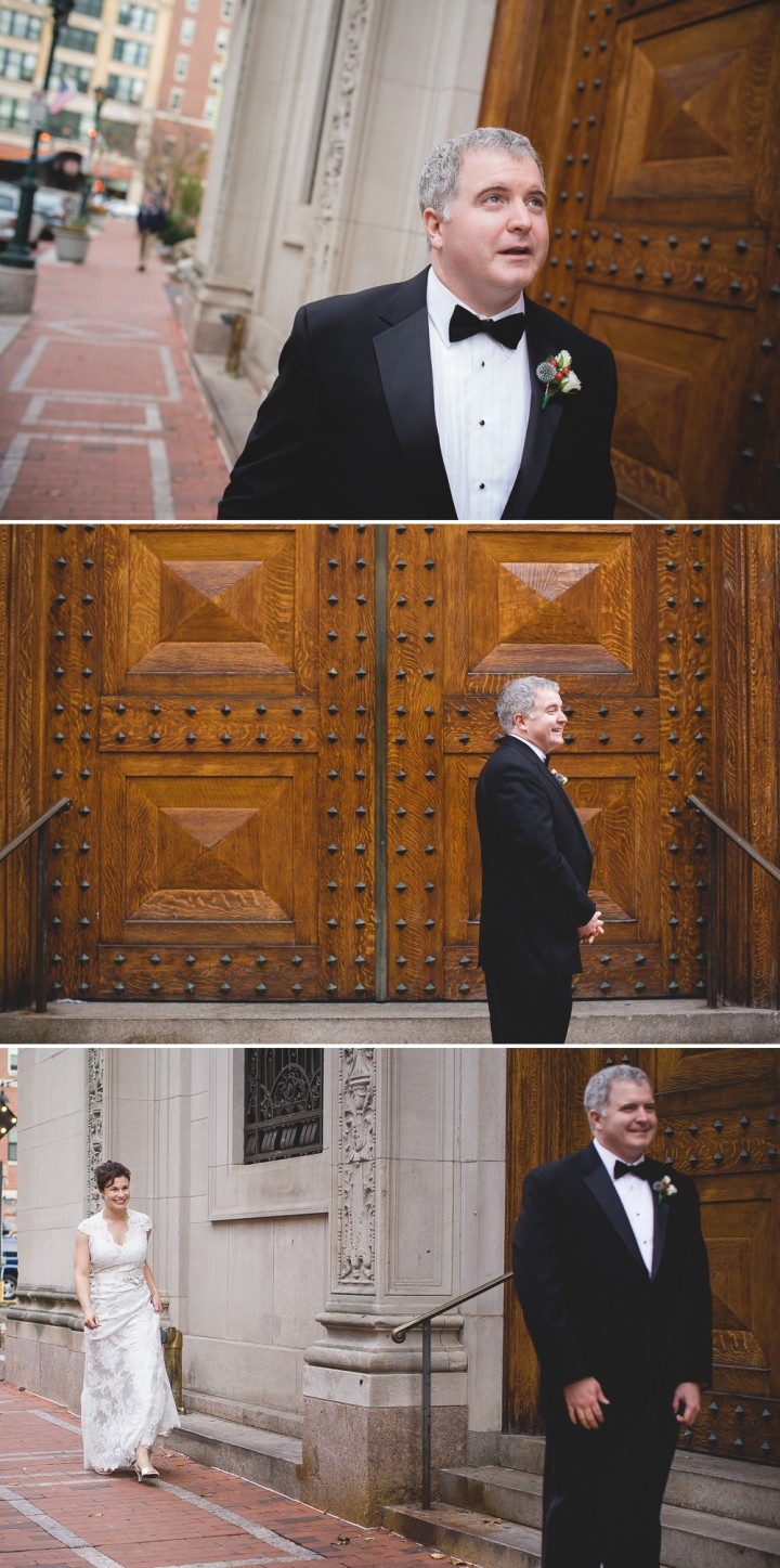 beautiful romantic documentary wedding photography at The Society Room of Hartford
