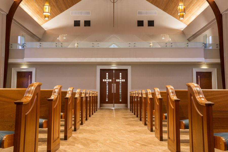 United Methodist Church of New Canaan, CT architectural photography